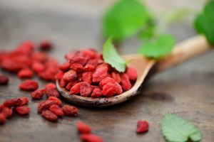 Goji berries or wolfberry Chinese super food