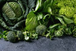 Green vegetables provide nutrietns that help clear phlegm and also nourish your Liver