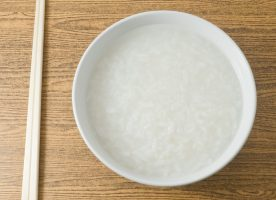 Rice congee is a nourishing staple for babies, children, and adults