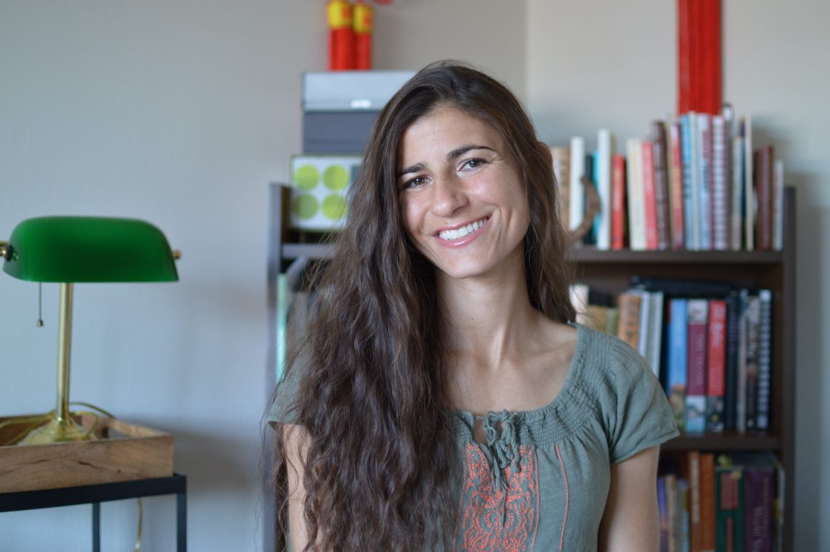 Addison Sheldon is Radiant Shenti's resident yoga expert