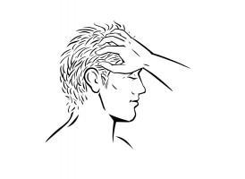 Rake the hair