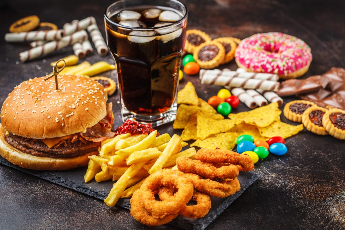Fatty fried sugary foods prevent lustrous hair